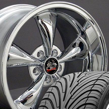18 9/10 Chrome Bullitt Wheels Nexen Tires Rims Fit Mustang® 94 04