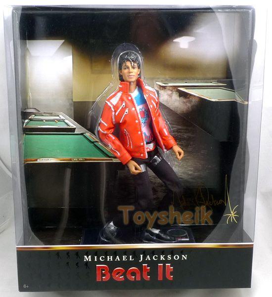 Michael Jackson Beat It 10 inch doll Playmates 23023 043377223023