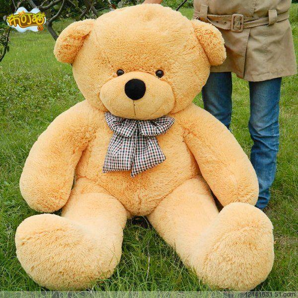 47 Huge Cuddly Stuffed Plush Teddy Bear Toy Animal Doll 1.2M