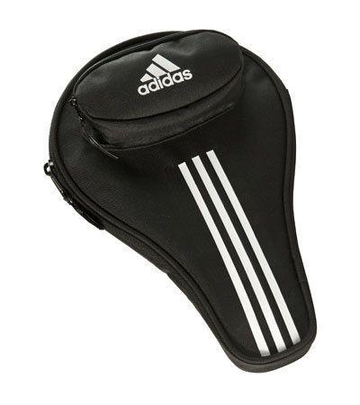 Adidas Ping Pong Paddle Case Single Table Tennis Bag Cover 3 Balls