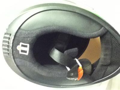 Icon Mainframe Hooligan Full Face Helmet MOTORCYCLE Neon Green M