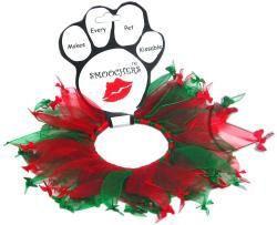 Party Christmas Bones Pet Dog Collar