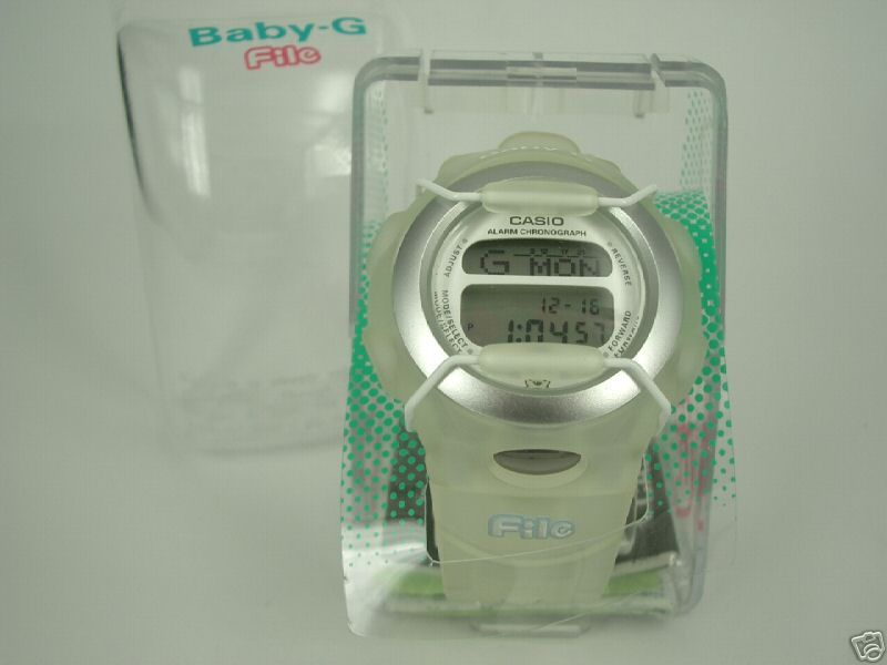 LTD 1998 Sanrio Hello Kitty Baby G Watch * File