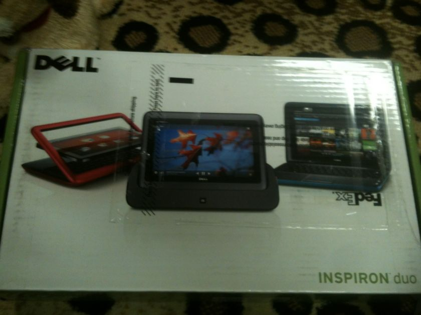 Dell Inspiron Duo Netbook Tablet with Windows 7 / Intel Atom Dual Core
