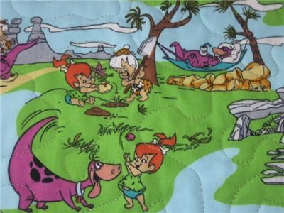 Handmade table Runner Flintstones Room Decor kids