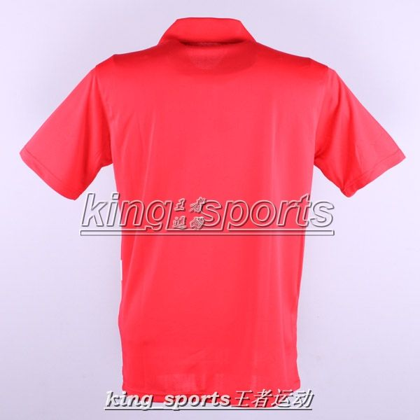 Butterfly Mans Badminton /table tennis shirt polo Blue ,red
