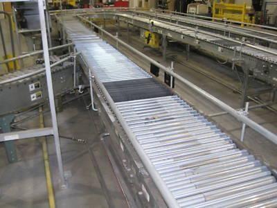 24 BDLR Belt Driven Live Roller transportation conveyor